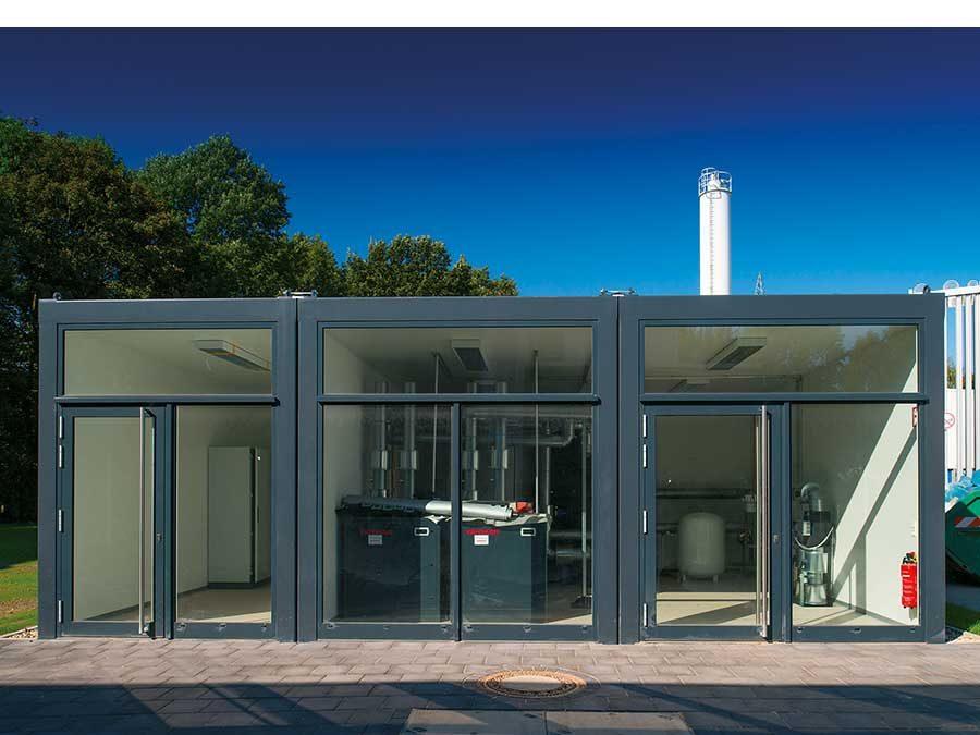 TGA-Zentrale als Energie-Showroom