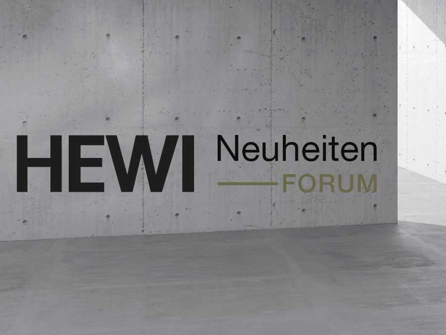 HEWI Neuheiten-Forum: Innovationen virtuell erleben