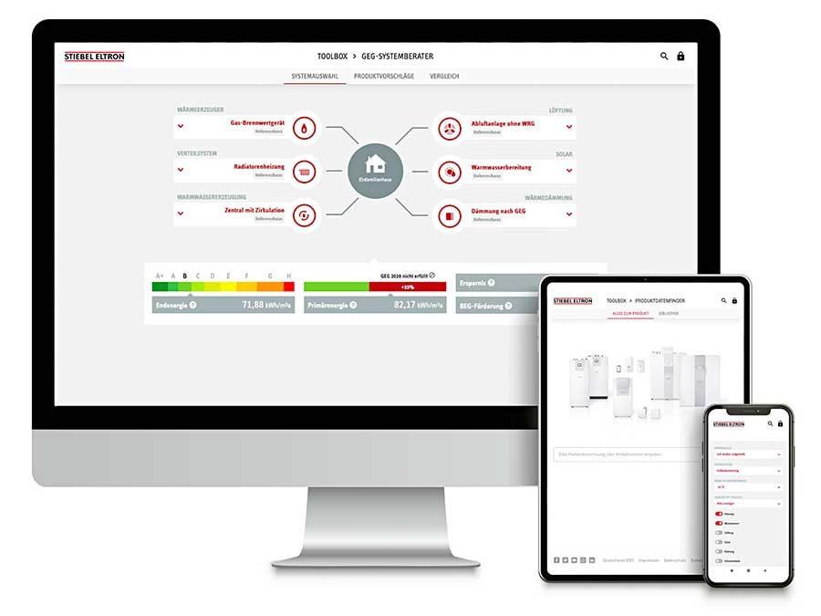 Stiebel Eltron Toolbox verringert Arbeitsaufwand bei der Planung