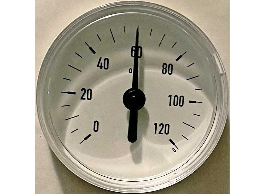 60°C müssen es mindestens sein