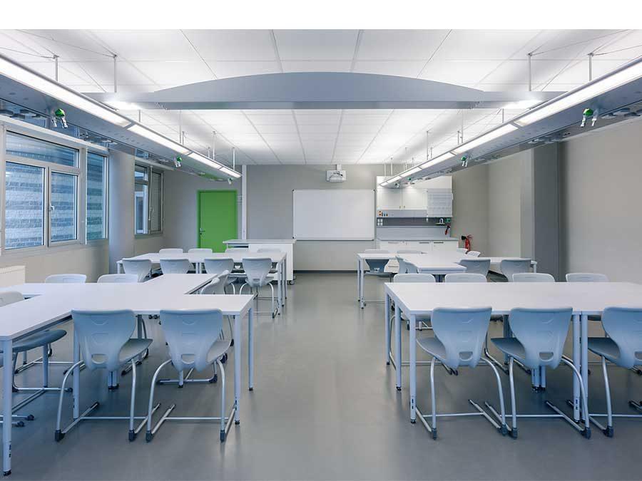 Gasinstallationen in Labor- und Unterrichtsräumen