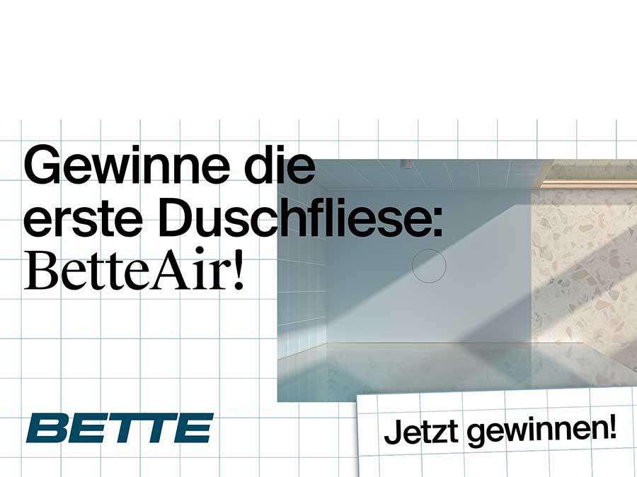 Planungs-Contest: Walk-In-Duschbad mit BetteAir