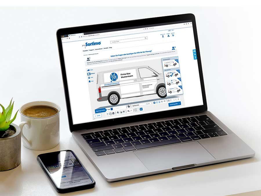 Gestaltungsservice für Fahrzeugbeklebungen