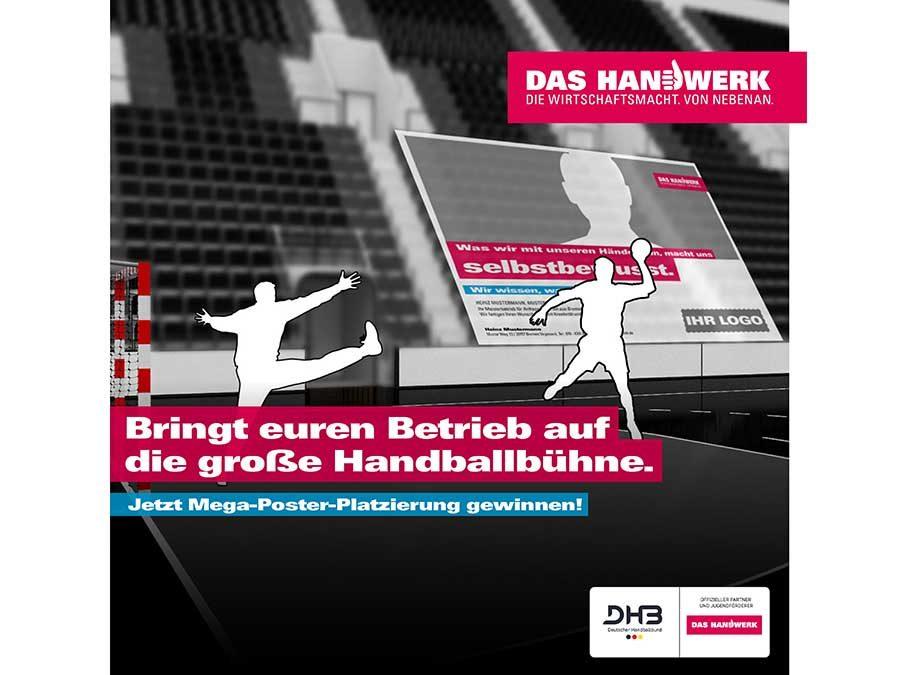 Werbeplätze bei Drei-Nationen-Handballturnier gewinnen