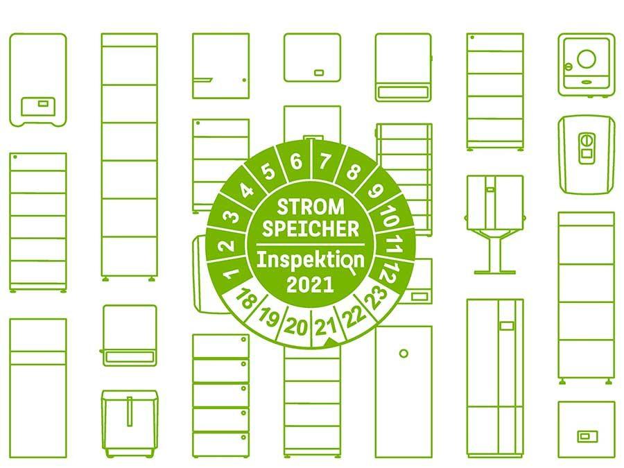"""Studie """"Stromspeicher-Inspektion 2021"""""""