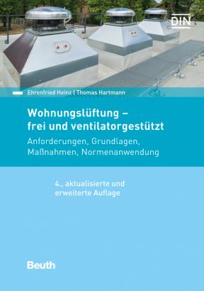 Wohnungslüftung – frei und ventilatorgestützt