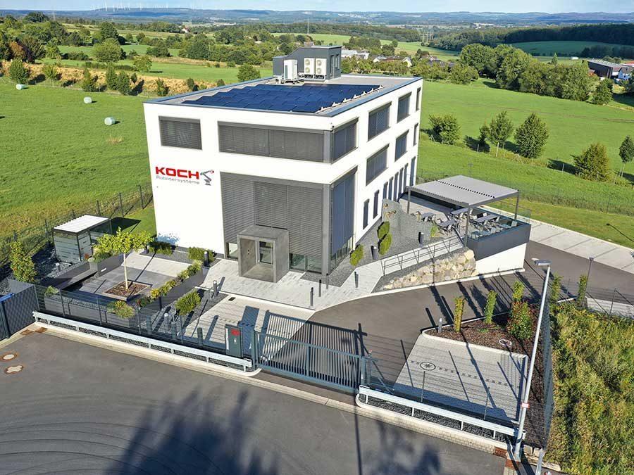 Fränkische Rohrwerke Gebr. Kirchner GmbH & Co. KG: Energieeffiziente Lüftung für Roboter-Systemhaus