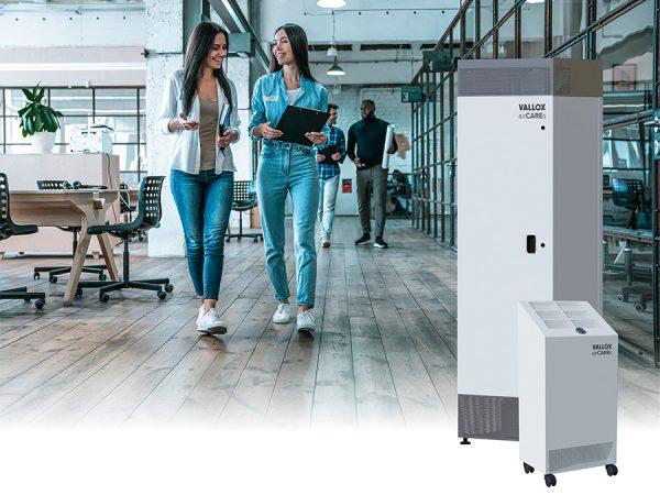 Vallox GmbH: Viren-Luftreiniger als Stand- und Mobilgeräte
