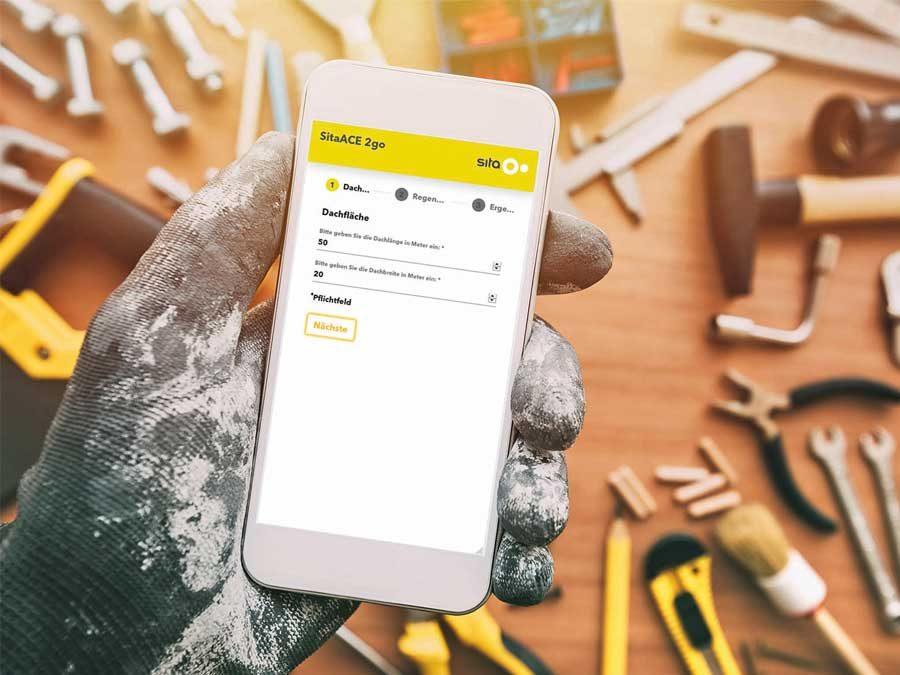Sita Bauelemente GmbH: Berechnungshilfe für Dachabläufe