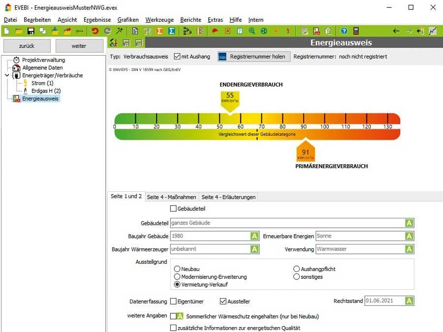 ENVISYS GmbH & Co. KG: Software für Energieausweise nach GEG aktualisiert
