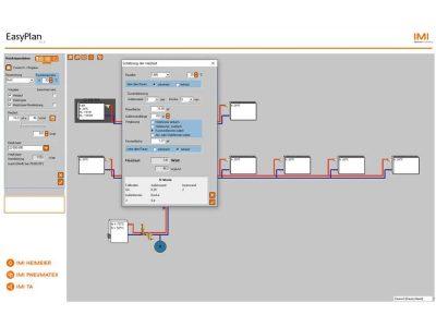 IMI Hydronic Engineering Deutschland GmbH: Easy-Plan: Software für hydraulischen Abgleich bietet weitere Funktionen