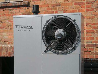 Remeha GmbH: Gas-Absorptionswärmepumpe in historischem Wohn- und Geschäftshaus