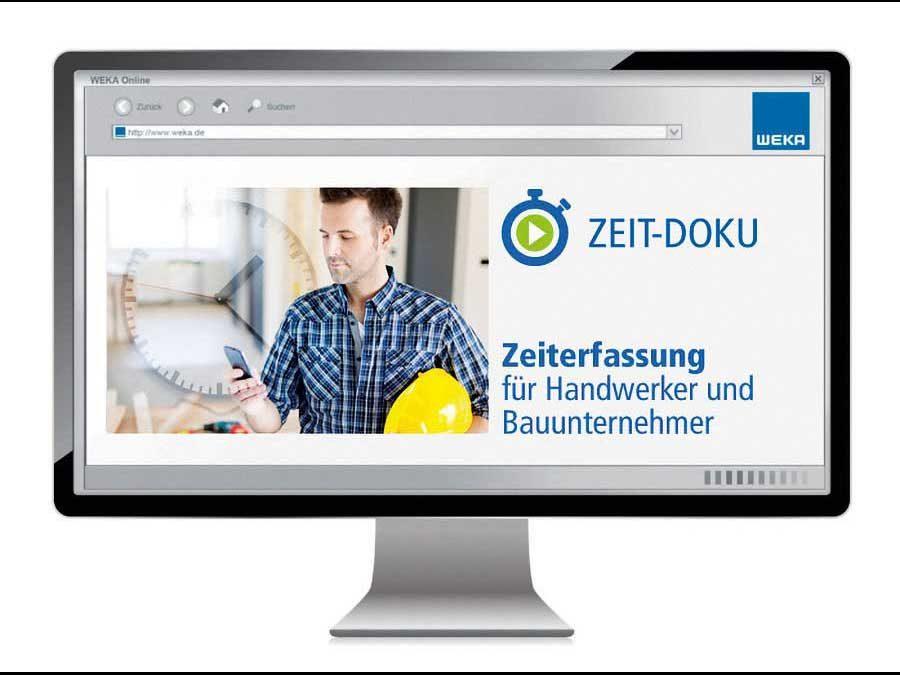 """Weka Media GmbH & Co. KG: Neue Zeiterfassungs-Software """"ZEIT-DOKU"""""""