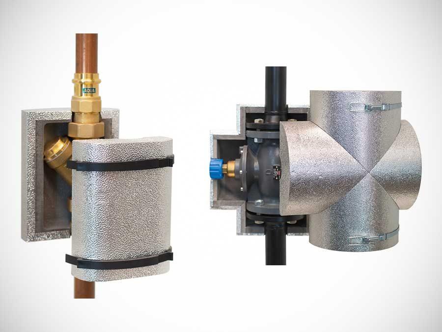 GWK Kuhlmann GmbH: Universelle, abnehmbare und wiederverwendbare Armaturendämmung