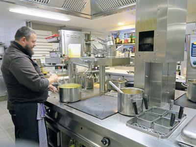 Abwärme aus Küchenherdanlagen zurückgewinnen