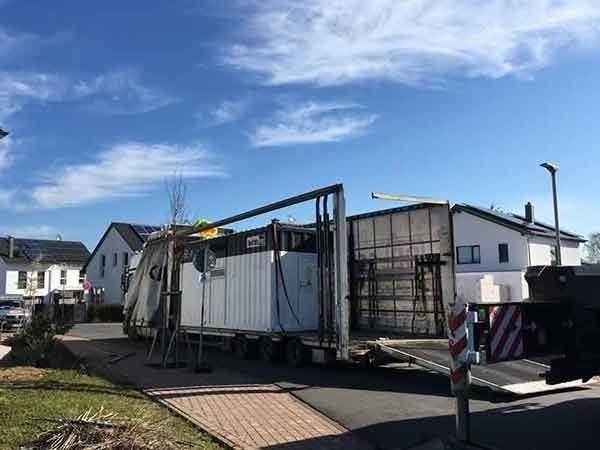 Erfolgreiches  Pilotprojekt: Quartierspeicher für Solarsiedlung