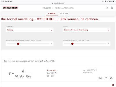 STIEBEL ELTRON: Formelsammlung