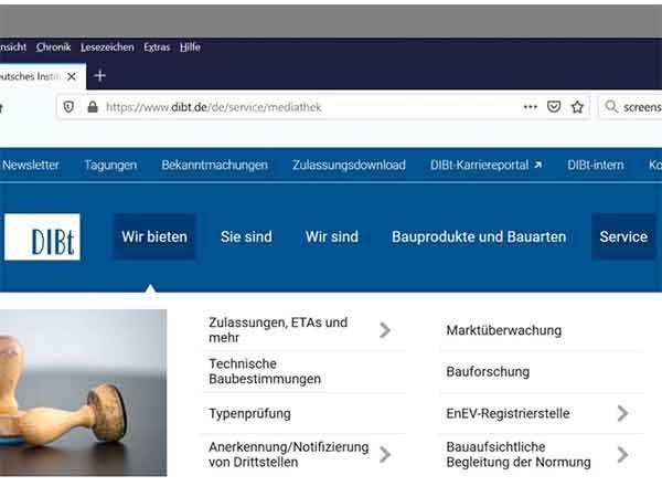 DIBt-Dokumente im Volltext kostenlos lesen