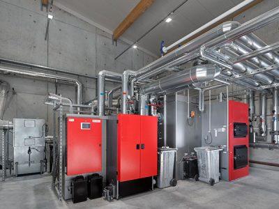 Biomasse-Heizwerk sichert ökologische Energieversorgung