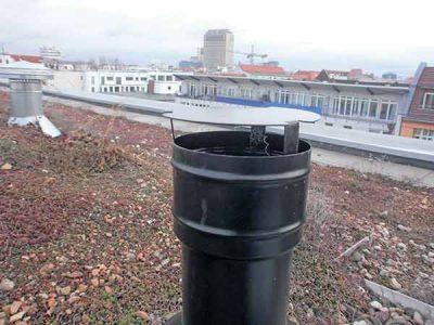 Eingeschränkte Lösung für Gerüche bei Abwasser-Lüftungsleitungen
