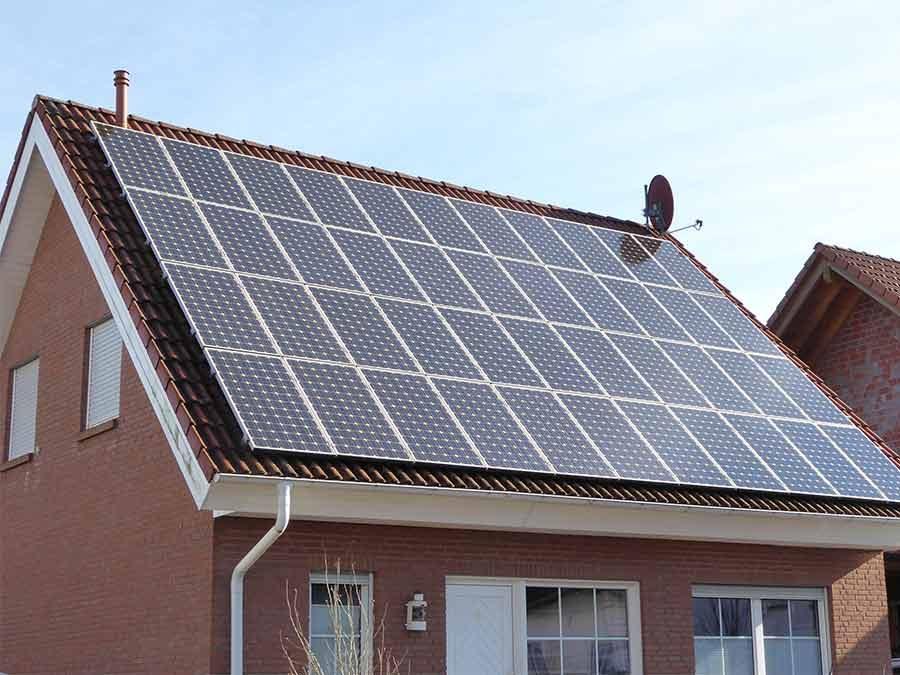 Gestiegene Absatzzahlen bei Photovoltaik und Solarheizungen
