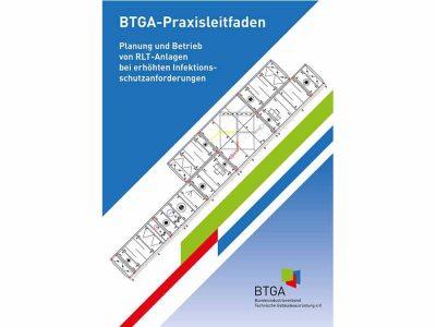 """Praxisleitfaden: """"Planung und Betrieb von RLT-Anlagen bei erhöhten Infektionsschutzanforderungen"""""""